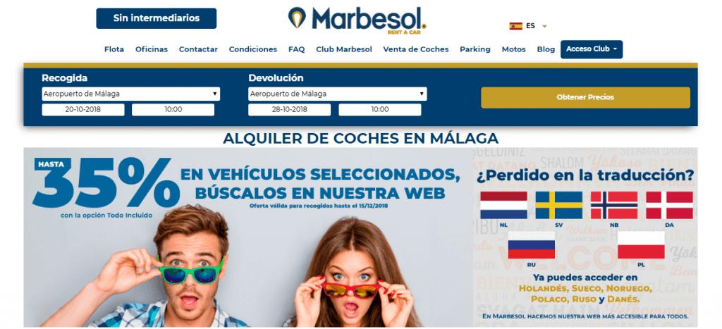 web marbesol