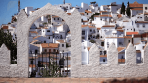 highest villages in malaga