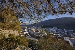 the highest village in Malaga