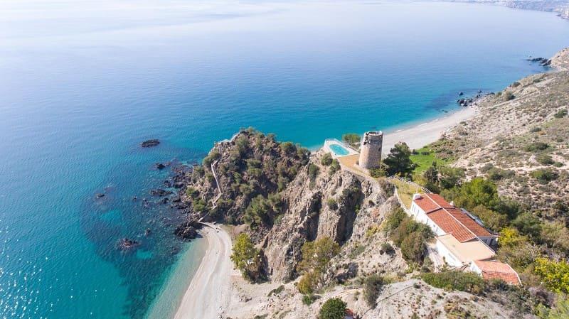 playas escondidas malaga