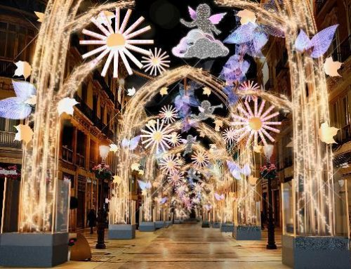 Malaga at Christmas.  🎄 Its lighting and everything you can't miss!