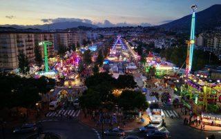 feria Fuengirola de noche