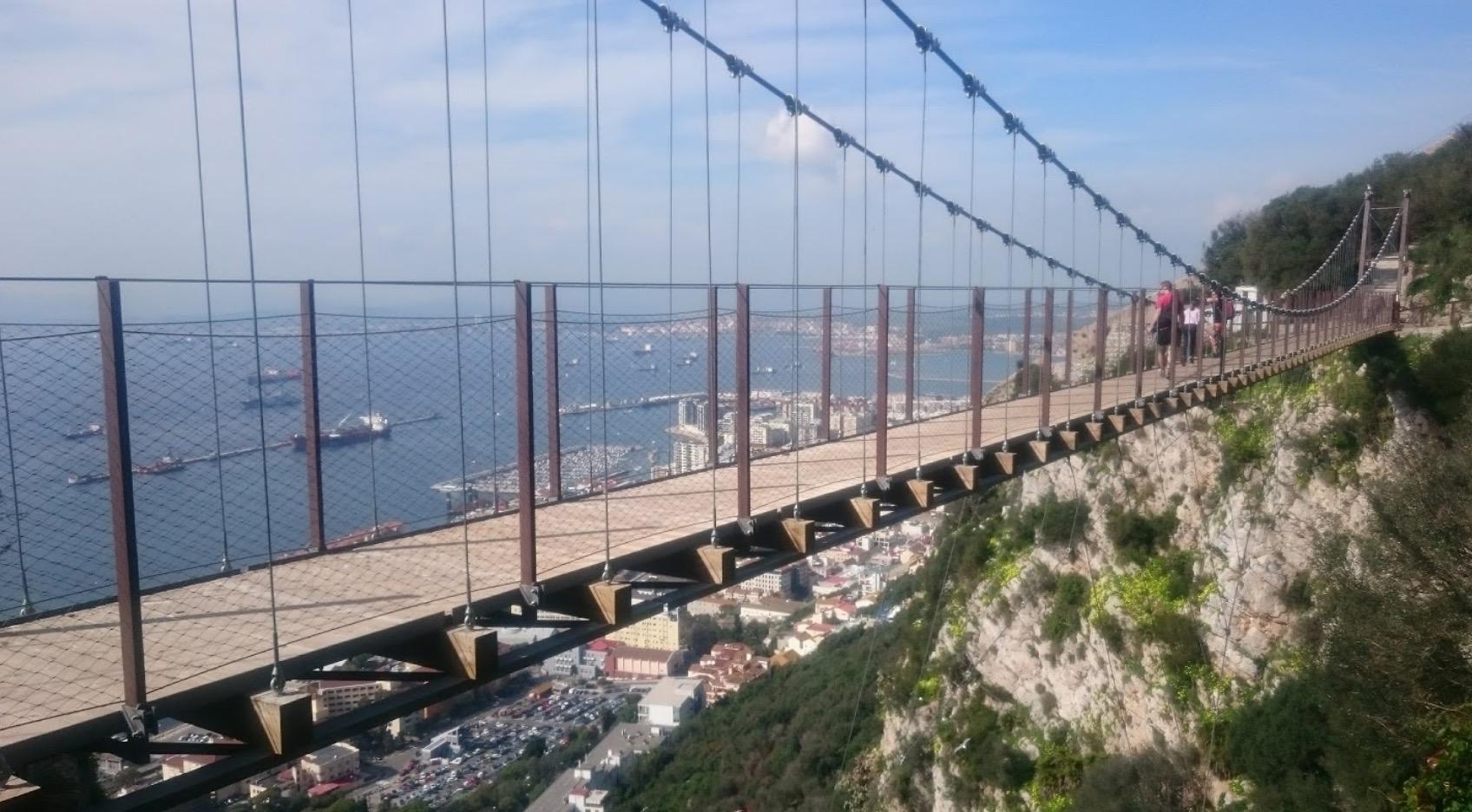 puente colgante gibraltar