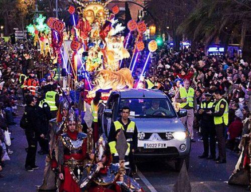 Cabalgata en Málaga. ¡Reyes Magos 2020! 👑👑👑