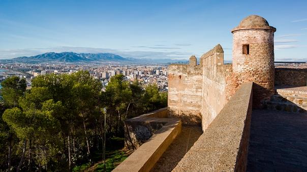 castillo gibralfaro malaga marbesol