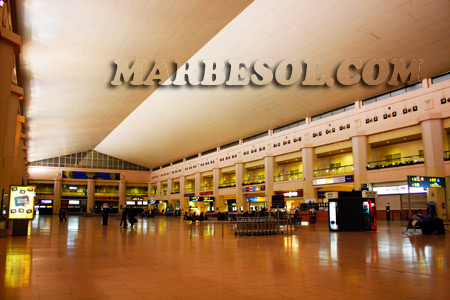malaga airport pictures