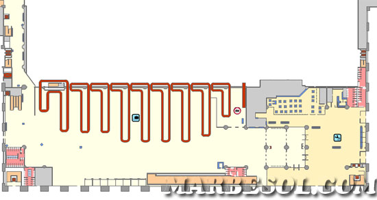 terminal 2 arrival map